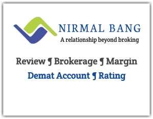 Nirmal Bang Securities - Brokerage charges, Margin, Demat