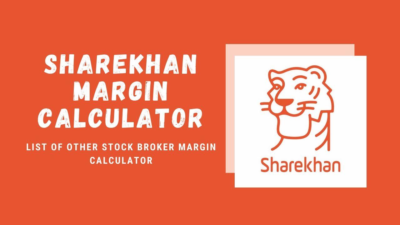 ShareKhan Margin Calculator