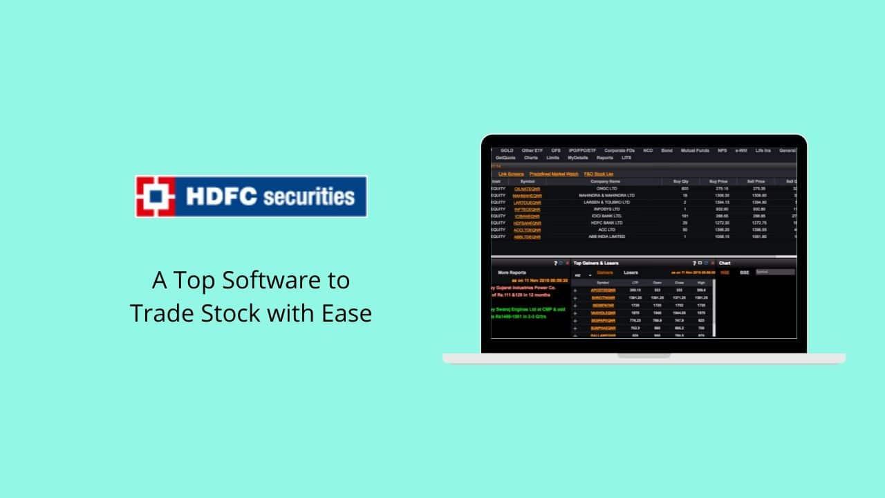 HDFC Securities Blink