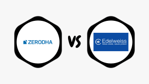 Zerodha Vs Edelweiss Comparison