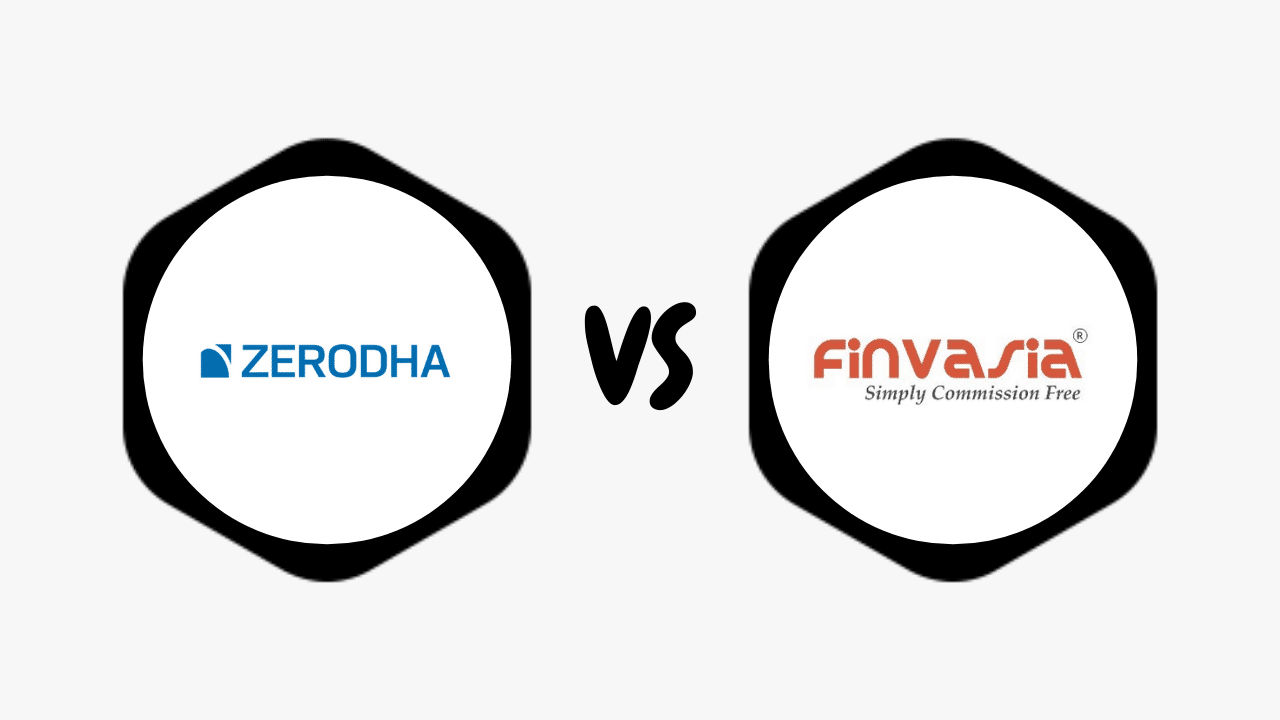 Zerodha Vs Finvasia Comparison