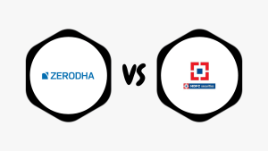 Zerodha Vs HDFC Securities – Compare Best Discount & Full Service Broker