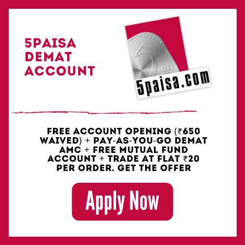Open 5Paisa Demat Account