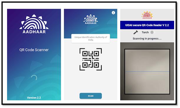 Aadhaar QR Scanner