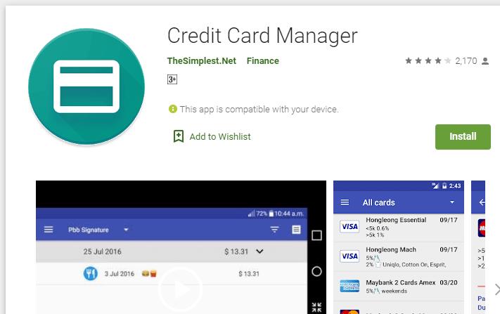Tata Credit Card Mobile App
