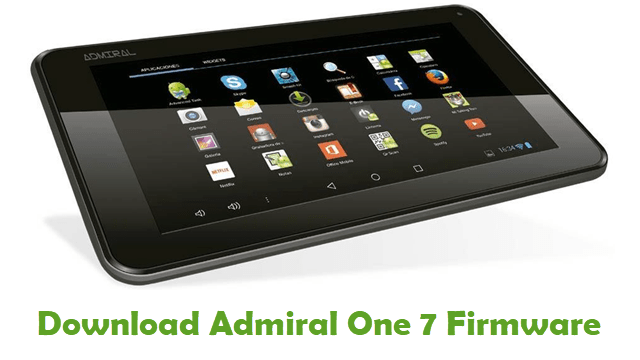Download Admiral One 7 Firmware