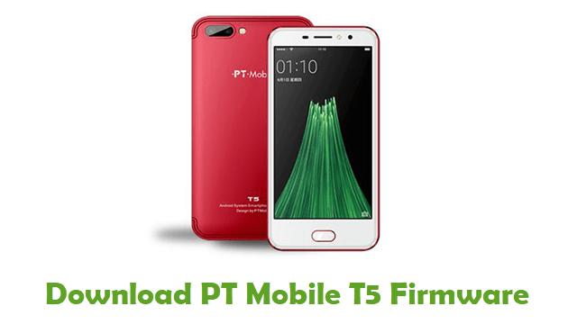 Download PT Mobile T5 Firmware