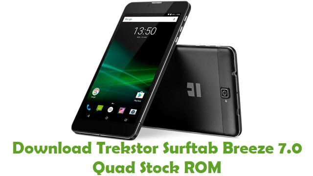 Download Trekstor Surftab Breeze 7.0 Quad Stock ROM