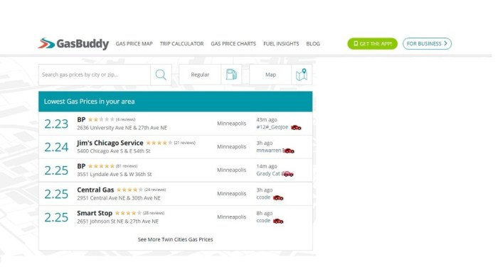 Gasbuddy WAYS TO SAVE ON MONTHLY EXPENSES