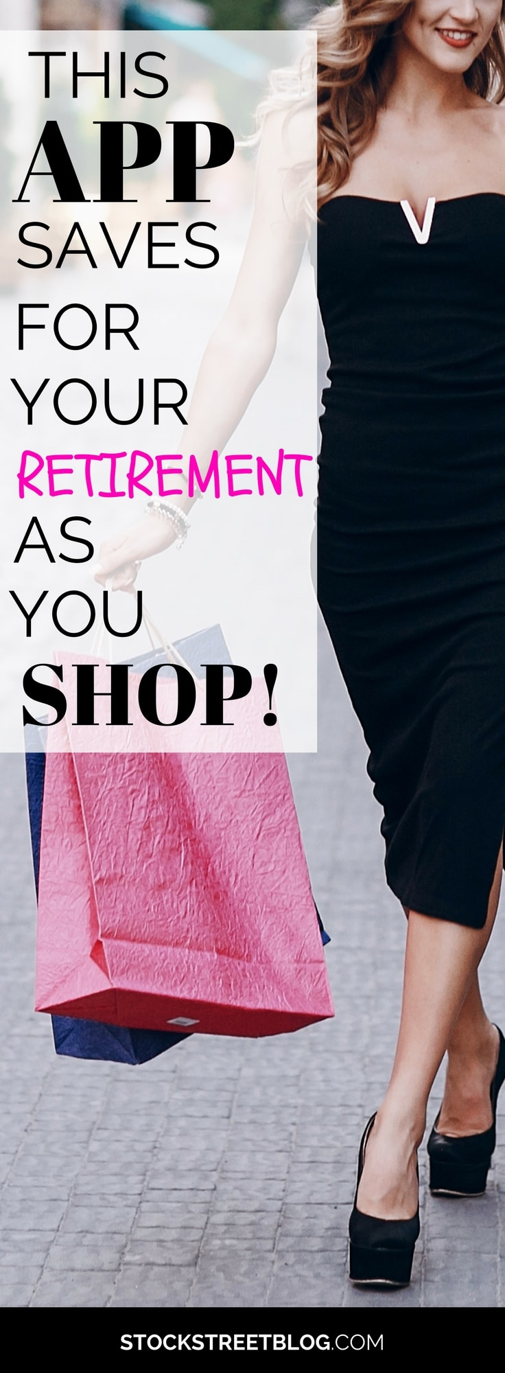 We all know how difficult it is to save money when it comes to your retirement and your financial future. This app can be setup within a few minutes and will automatically invest little bits of change as you shop! You will never be so happy to shop again…it's like putting your financial future on autopilot! #invest #stocks #financialfreedom #personalfinance #money #saving #retirement #shopping