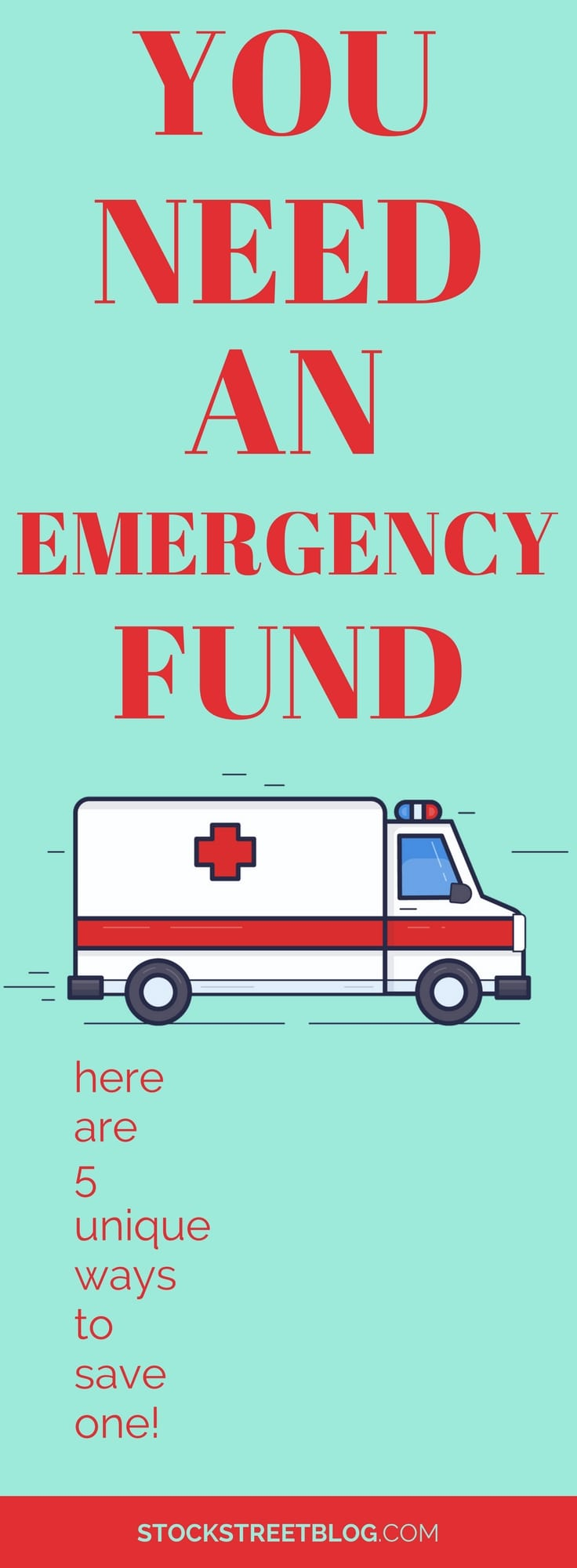 When it comes to saving and investing money, the first step you should take is to save an emergency fund! This is really important because it can help you avoid adding debt to your household. When the next big expense shows up for your #family, you should have the money saved so you can take care of it. Here are some very unique ways to help you save up your emergency fund! #saving #money #financialfreedom #personalfinance #debt
