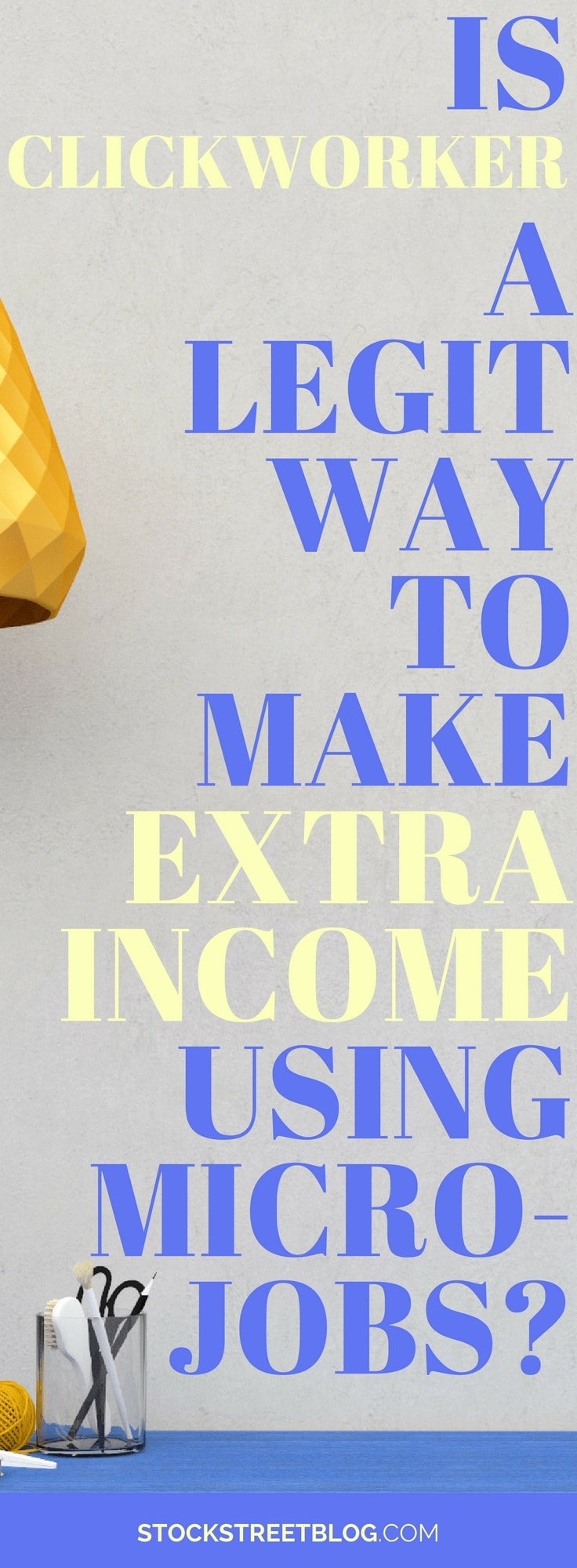 Micro jobs are small tasks that can't be done by computers. For this reason, platforms such as, Clickworker, hire people to do many small tasks for a little cash. Do enough small tasks and you can make a decent amount of extra income! Clickworker may be a great side hustle if for you. #sidehustle #extraincome #money #sidegig #personalfinance #saving #WAHM #SAHM #mom