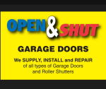 Open & Shut Garage Doors
