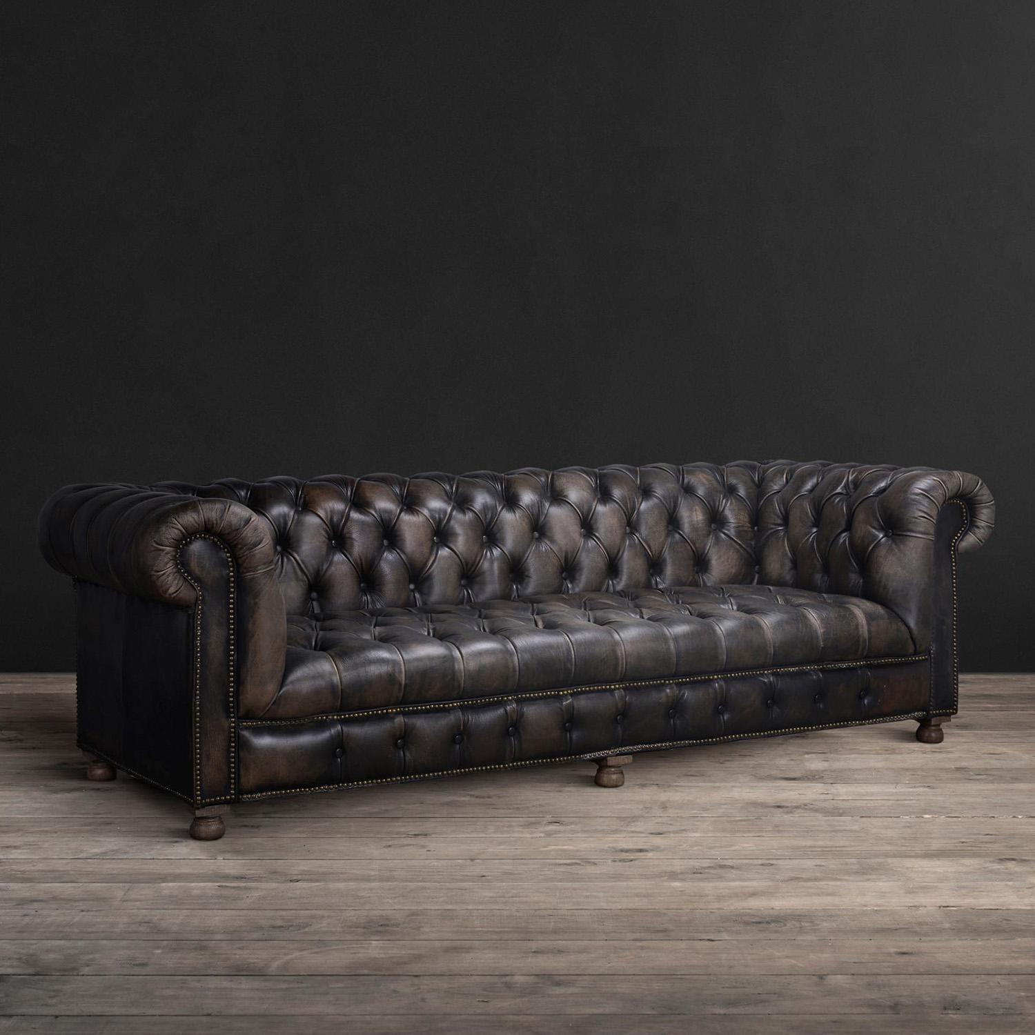 Xxl Chesterfield Sofa Chesterfield Sofa Wildlederoptik 2 Sitzer Couch