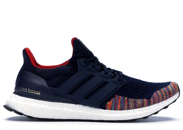 Adidas Ultra Boost 1 0 Multi Color Toe Navy Bb7801