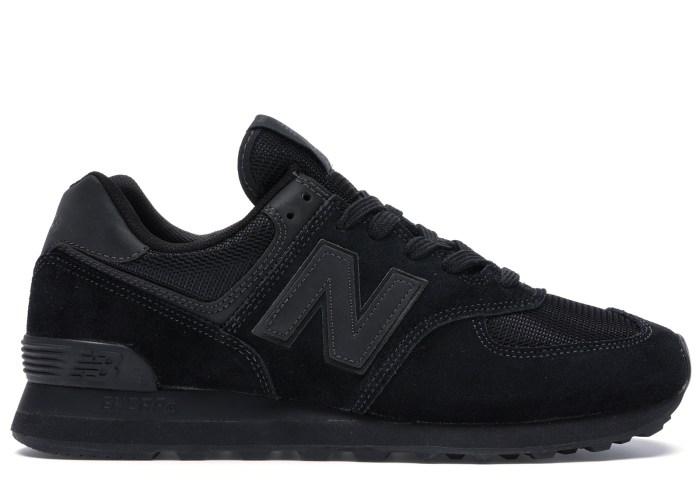 New Balance 574 Triple Black - ML574ETE