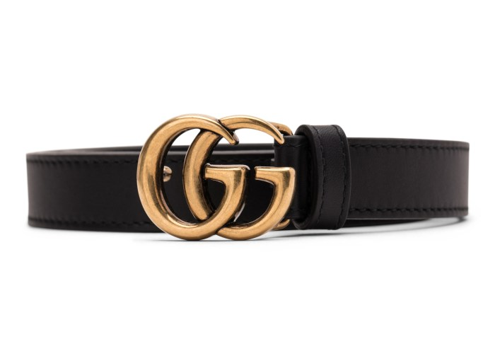 gucci double g gold
