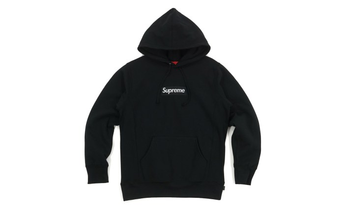 supreme box logo hooded