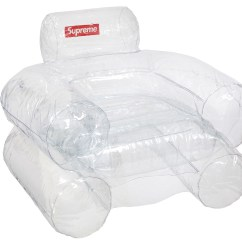 Inflatable Chairs For Adults Hickory Chair Tufted Leather Sofa Supreme Clear Fw18 Sell