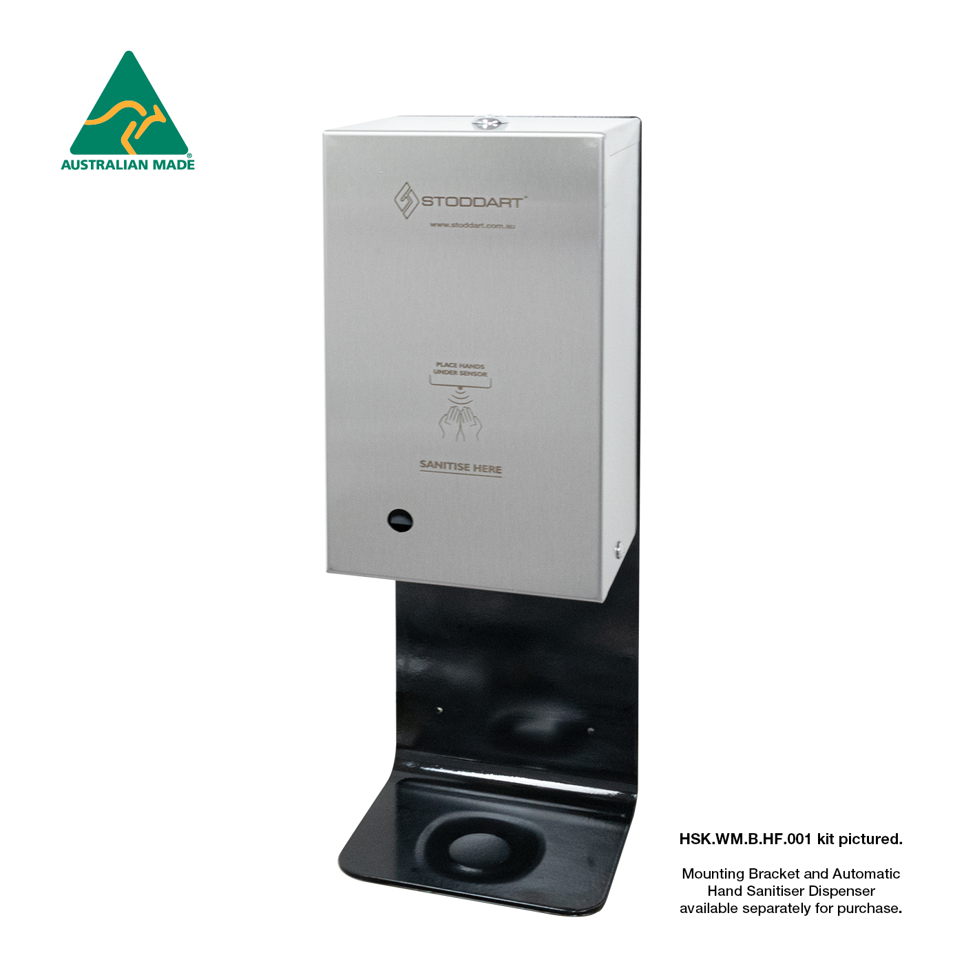 Automatic Hand Sanitiser Dispenser with Lockable Cabinet with Wall Mount