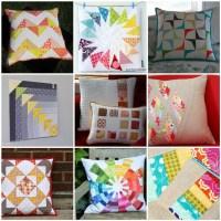 Pillow Swap Four Seasons  Summer | Stoffexperimente