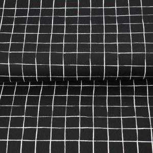 Stenzo Poplin schwarz und weiß 3