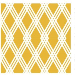 Stenzo Poplin gelb und weiß