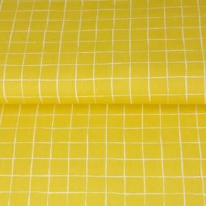 Stenzo Poplin gelb und weiß 2