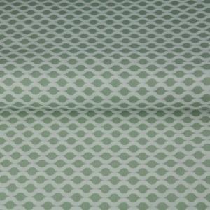 Stenzo Poplin grün und weiß 1