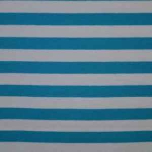 Cotton-EA Jersey print 01 weiß und blau