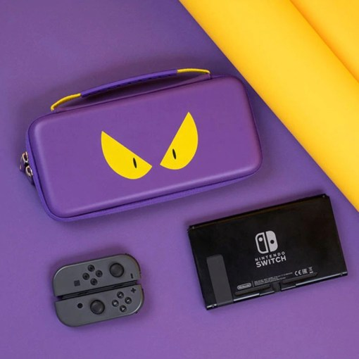 Nintendo Switch case purple