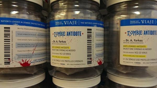 Viaje Zombie Antidote Jar