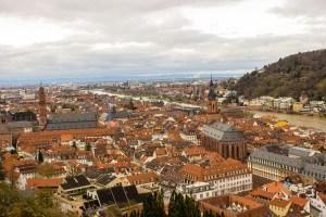 Heidelberg from the Schloss