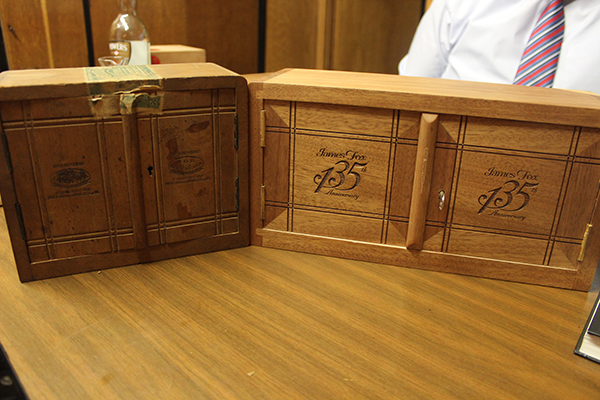 WWII version and the 135th Anniversary version cabinets
