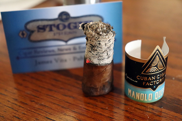 Manolo Quesada for Cuban Cigar Factory