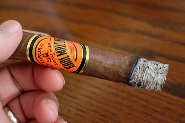 Karl Malone Barrel Aged by La Aurora Cigars