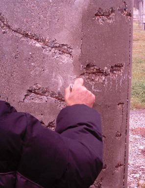 beton dislocat derugina