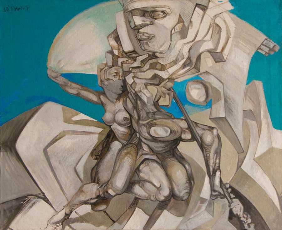 Kon Tiki - acrylic on canvas, 2003