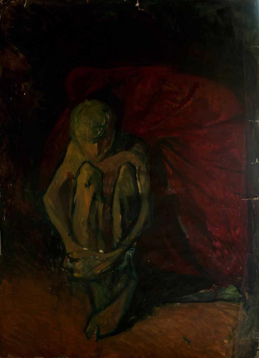 Miserere - oil on paper, 1992