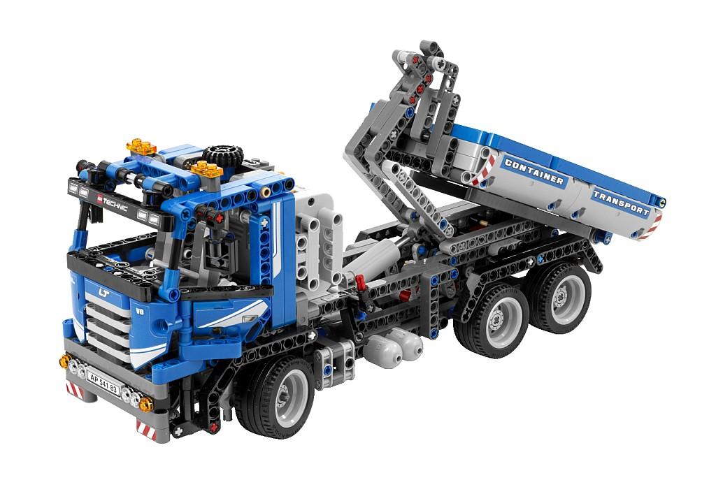 Stokebloke Blog » Blog Archive » Technic Lego 8052