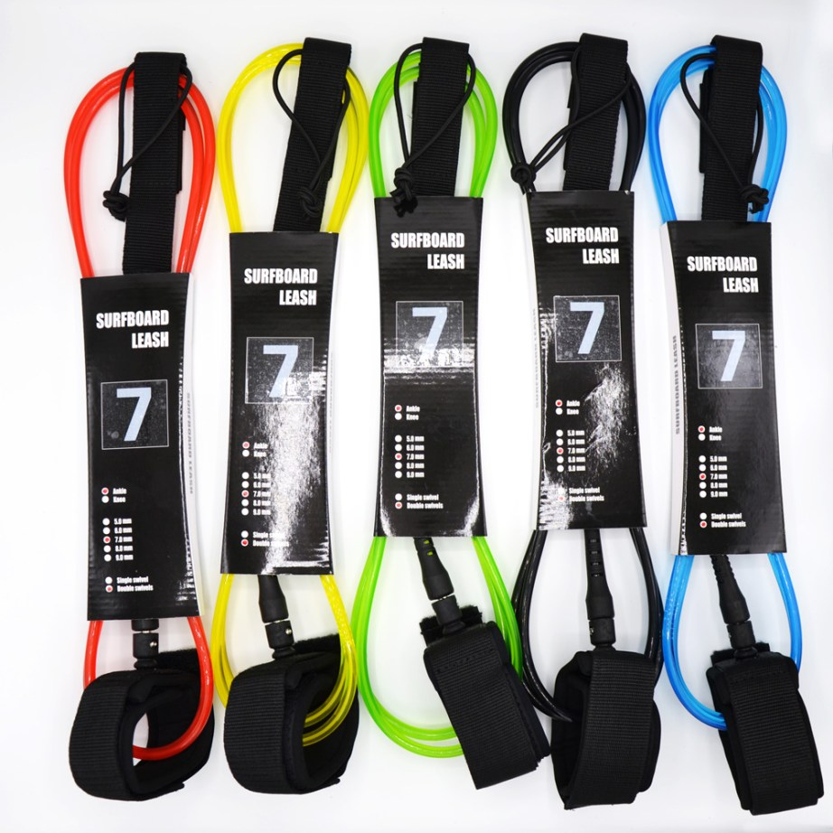 surf board leash 7 Foot all colors