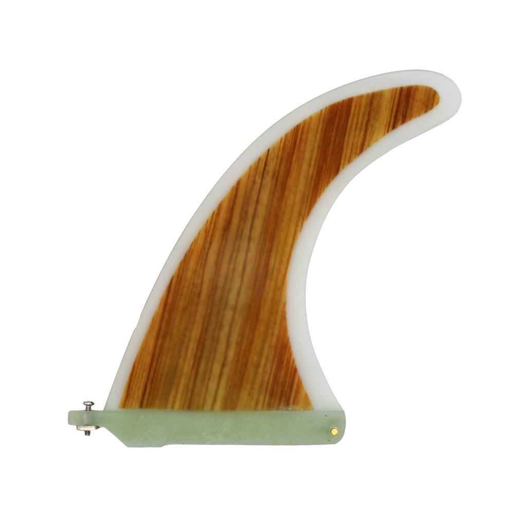 Longboard Bamboo Fin 9″ | Center Fin