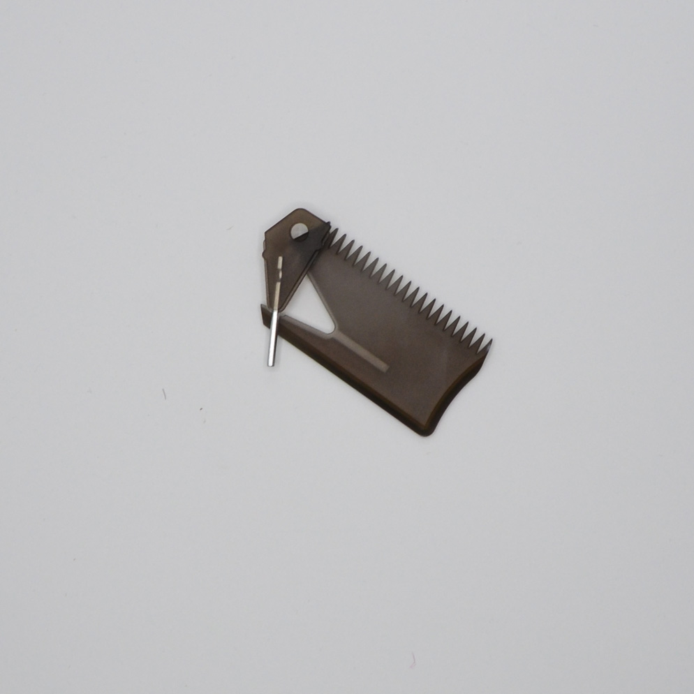 Wax Comb and Scraper with Fin key