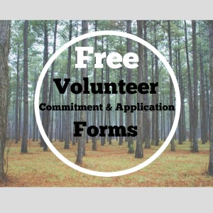 free volunteer forms graphic