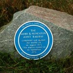 Blue Plaque for the Ashby & Nuneaton Joint Railway