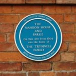 Blue Plaque for The Mansion House & Parke