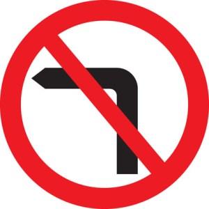 No left turn on Mare Street
