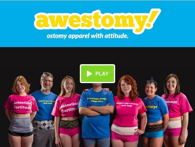 awestomy ostomy campaign kickstarter video ileostomy colostomy urostomy stephanie hughes stolen colon crohn's colitis blog