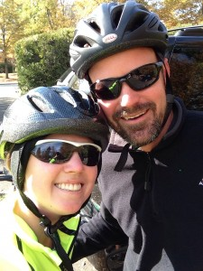 thorin lindsey stephanie hughes bike ride cycling bicycle american tobacco trail road stolen colon crohn's ostomy colitis blog
