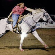 horse ostomy barrel racing rodeo